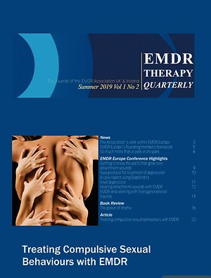 About me. EMDR journal cover