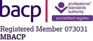 About me. BACP Registered Logo