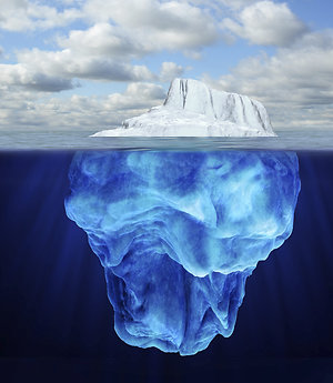 Out-of-control sexual behaviours. iceberg