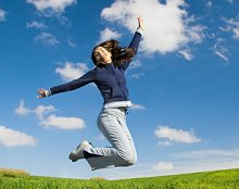 Trauma Therapy: Early Intervention . Library Image: Jump for Joy