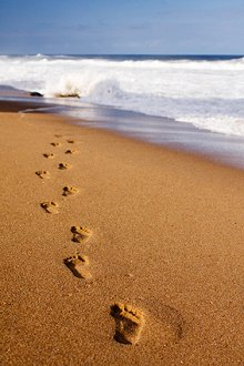 Clinical Supervision . Library Image: Footsteps in Sand
